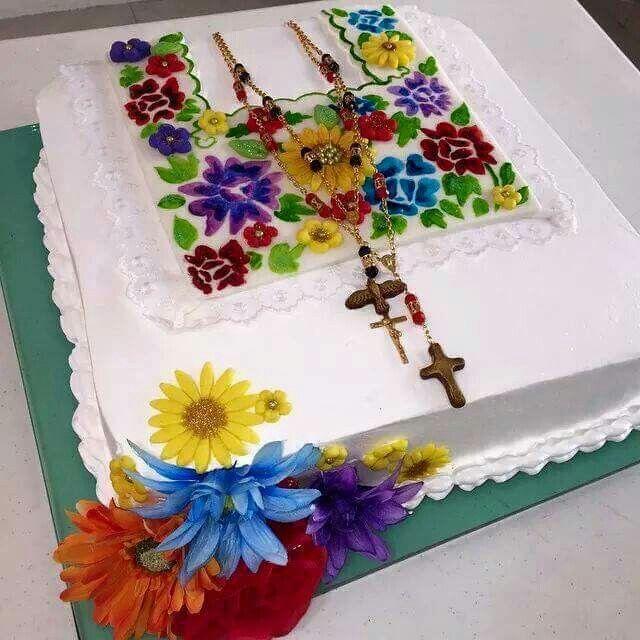 Pastel para boda yucateca