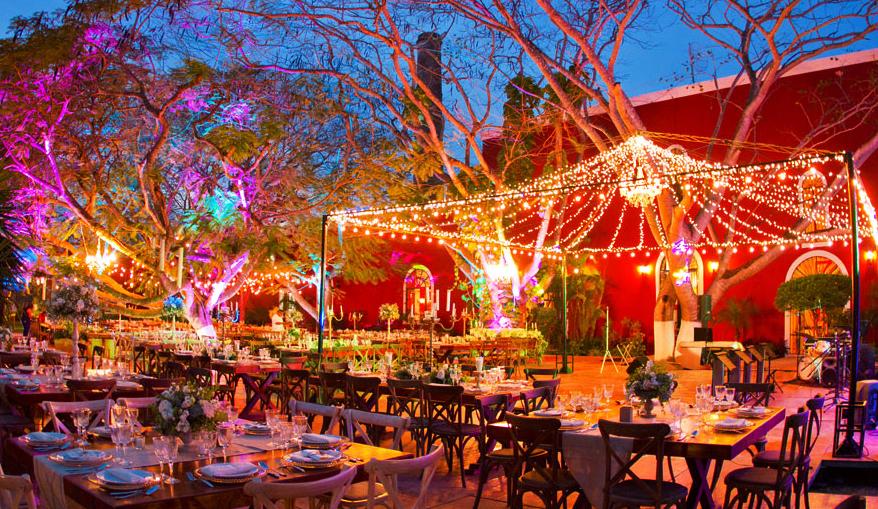 Hacienda para bodas yucatan