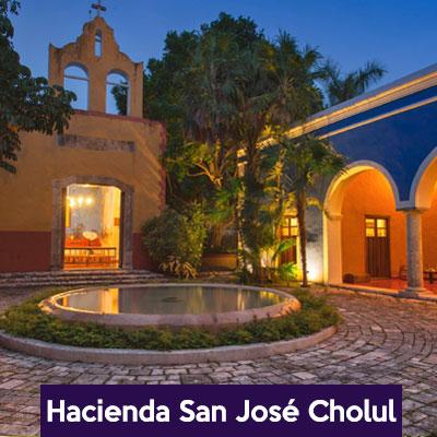 Hacienda para boda san jose cholul