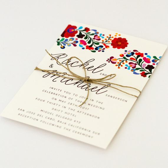 Invitación boda yucateca