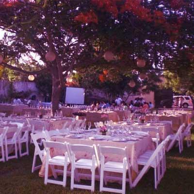 Jardines para bodas en Mérida